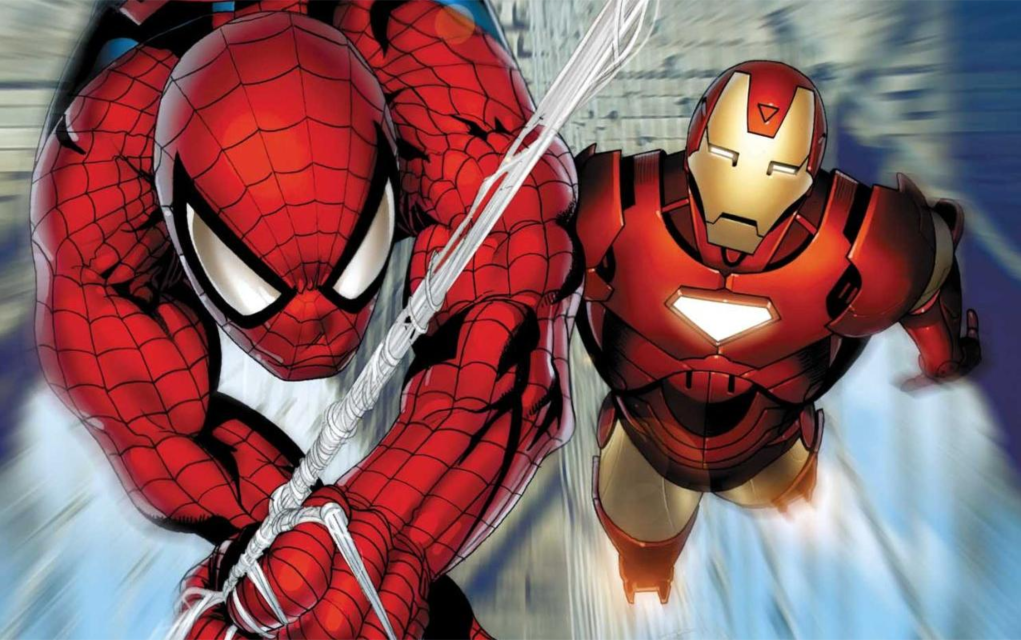 Spiderman og Ironman